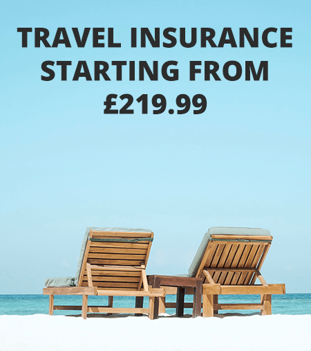 Holiday insurance - no special offer