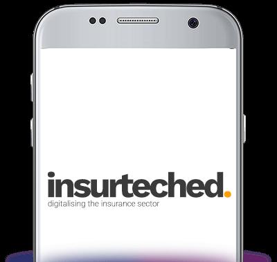 Insurteched mobile splash screen